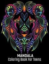 Mandala Coloring Book For Teens