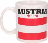 Mok Oostenrijkse vlag
