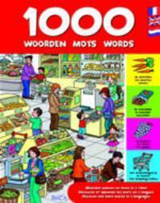 Cover van het boek '1000 Woorden - mots - words midprice'