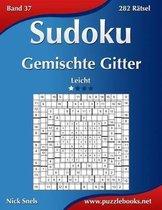 Sudoku Gemischte Gitter - Leicht - Band 37 - 282 Ratsel