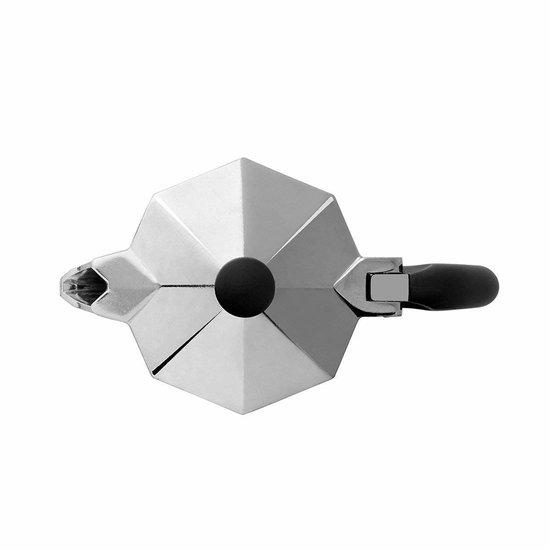 Bialetti Moka Express Percolator - Klein - 2 Kops - Zilver