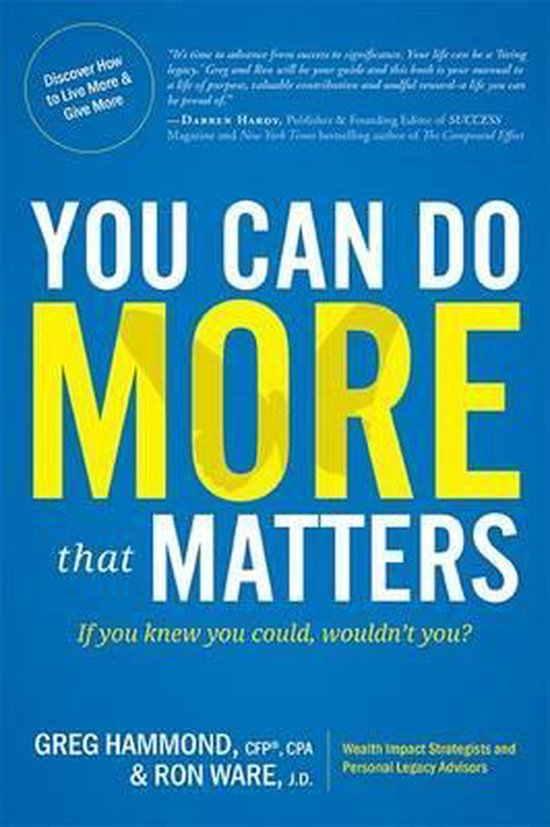You Can Do More That Matters
