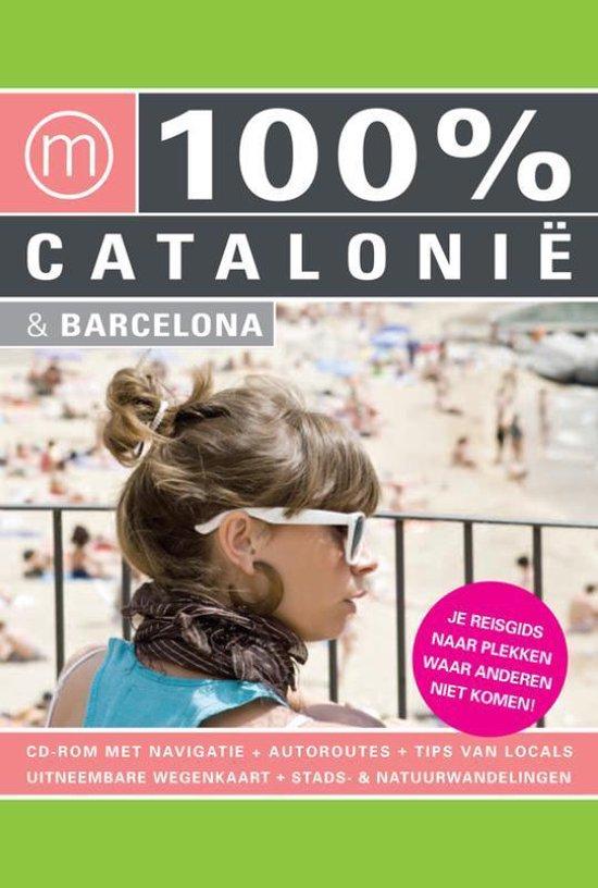 Cover van het boek '100% Catalonië' van Anabeth Vis en Esther Hoff