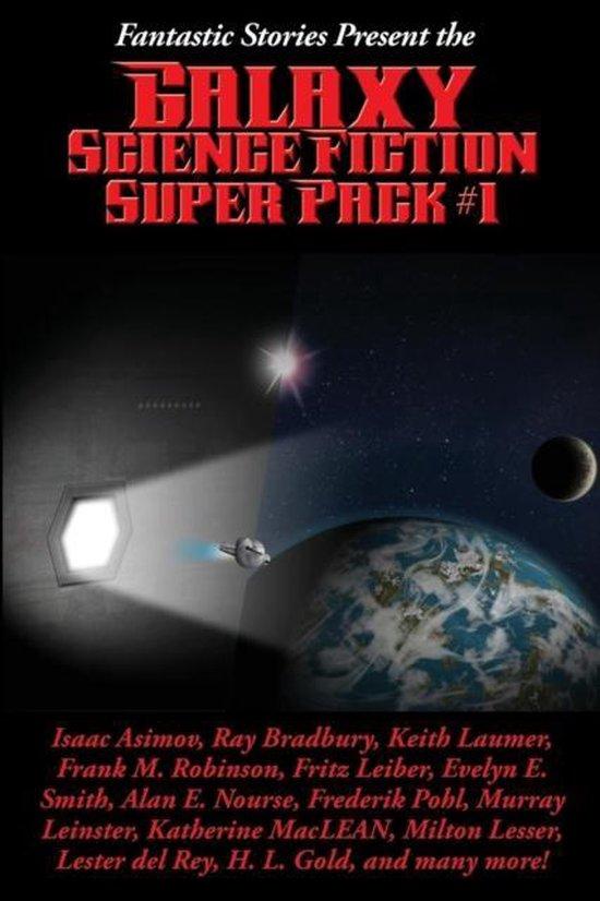 Boek cover Fantastic Stories Present the Galaxy Science Fiction Super Pack #1 van Edgar Pangborn (Paperback)