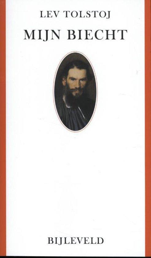 Boek cover Mijn biecht van Lev Nikolajevitsj Tolstoj (Paperback)