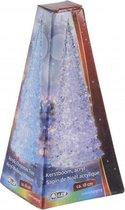 Piramide LED licht kerstboom 18 cm