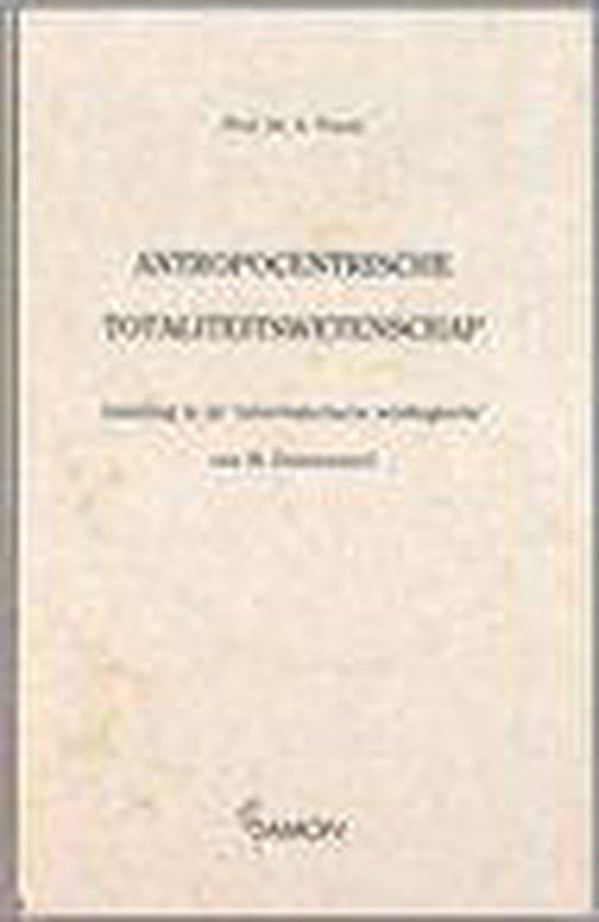 Antropocentristische totaliteitswet - A. Troost | Fthsonline.com
