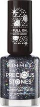 Rimmel London Glitter High Coverage nagellak - Diamond Dust - Black