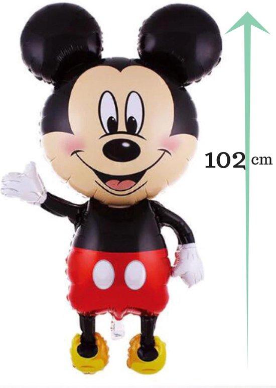 Mickey Mouse Ballon - 102 cm - feestdecoratie - themafeest Mickey Mouse + verrassing