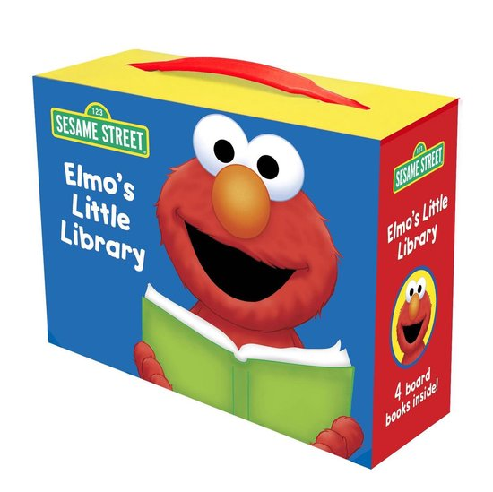 Boek cover Elmos Little Library van Sarah Albee (Hardcover)