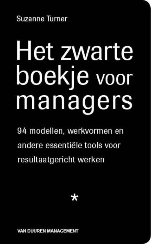 Het zwarte boekje voor managers - S. Turner pdf epub