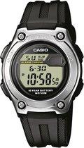 Casio W-211-1AVES - Horloge - 37 mm - Kunststof - Zwart