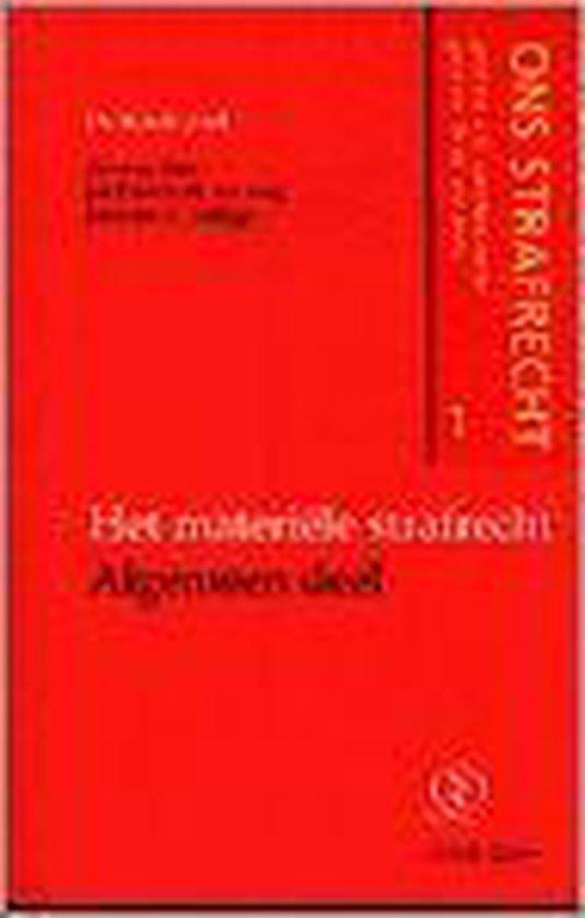 Boek cover Het materiele strafrecht van J.M. van Bemmelen (Paperback)