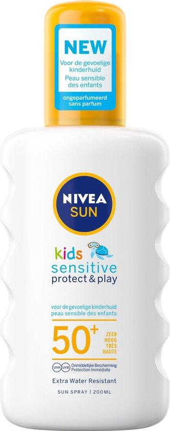 Nivea - Zonnebrand - Kids Pure & Sensitive spray - 200 ml - BF50