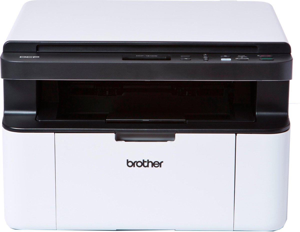 Brother DCP-1610W - Draadloze All-in-One Zwart-wit Laserprinter