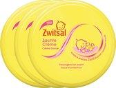 Zwitsal Baby Zachte Crème - 3 x 200 ml - Voordeelverpakking