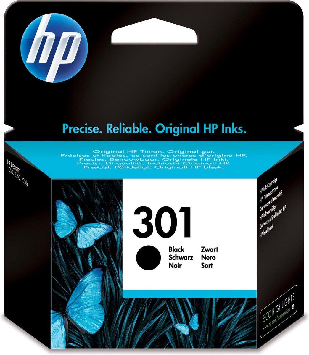 HP 301 - Inktcartridge - Zwart