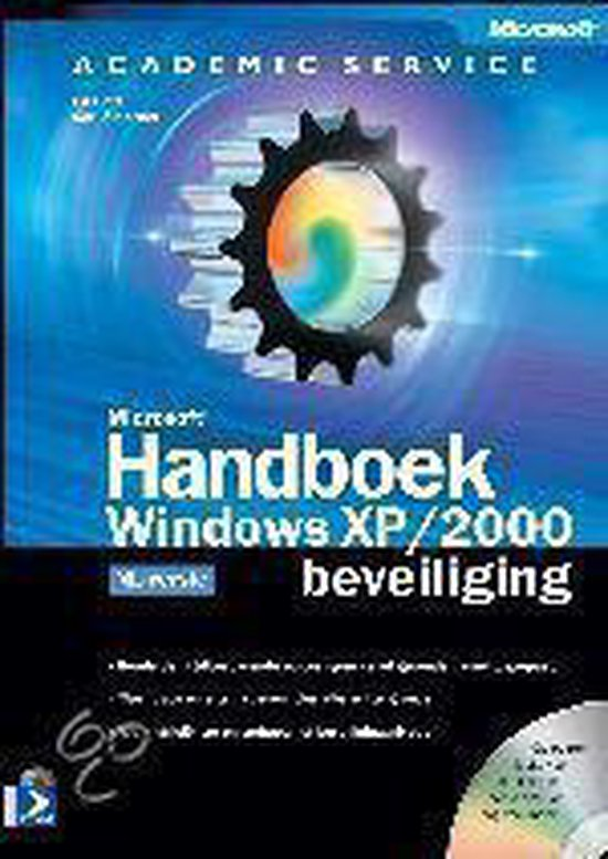Cover van het boek 'Microsoft Handboek Windows XP/2000 beveiliging + CD-ROM'