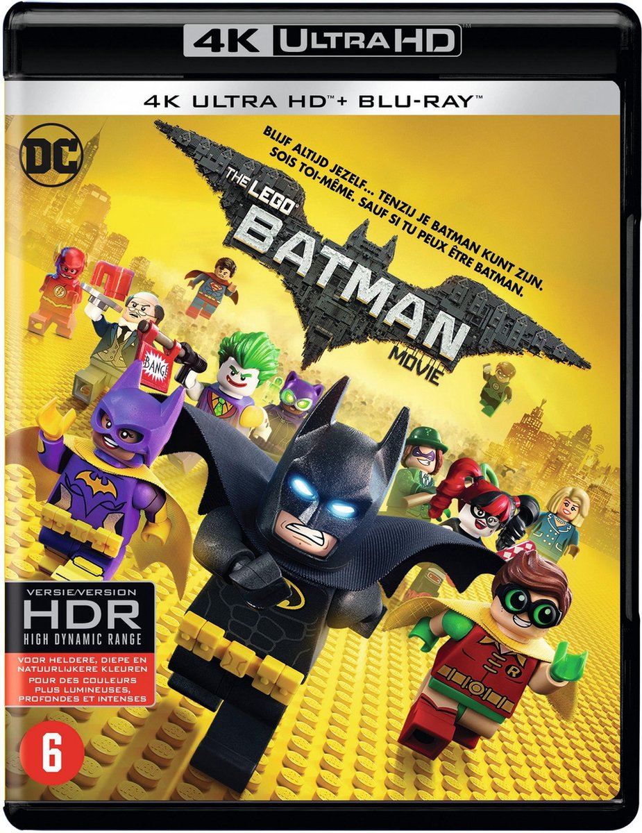The LEGO Batman Movie (4K Ultra HD Blu-ray)-