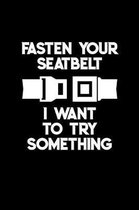 Fasten Your Seatbelt I Want to Try Something