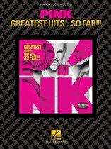 Boek cover Greatest Hits ... So Far!!! (Songbook) van Pink