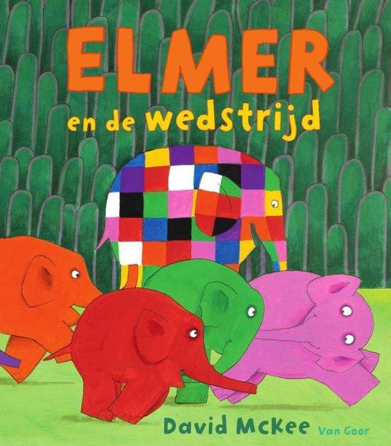Elmer - Elmer en de wedstrijd - David Mckee | Readingchampions.org.uk