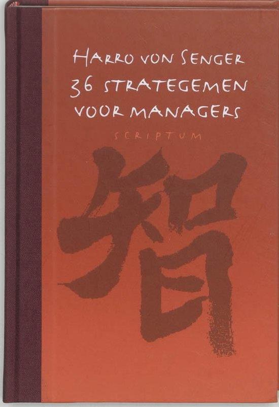 Cover van het boek '36 strategemen voor managers'