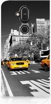 Nokia 8.1 Book Cover New York Taxi