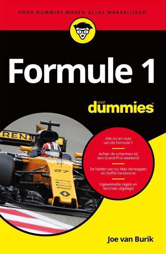 Voor Dummies - Formule 1 voor dummies - Joe van Burik |
