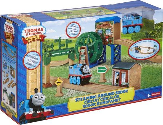 Fisher-Price - Thomas de Trein Houten Spoorbaan  Sodor