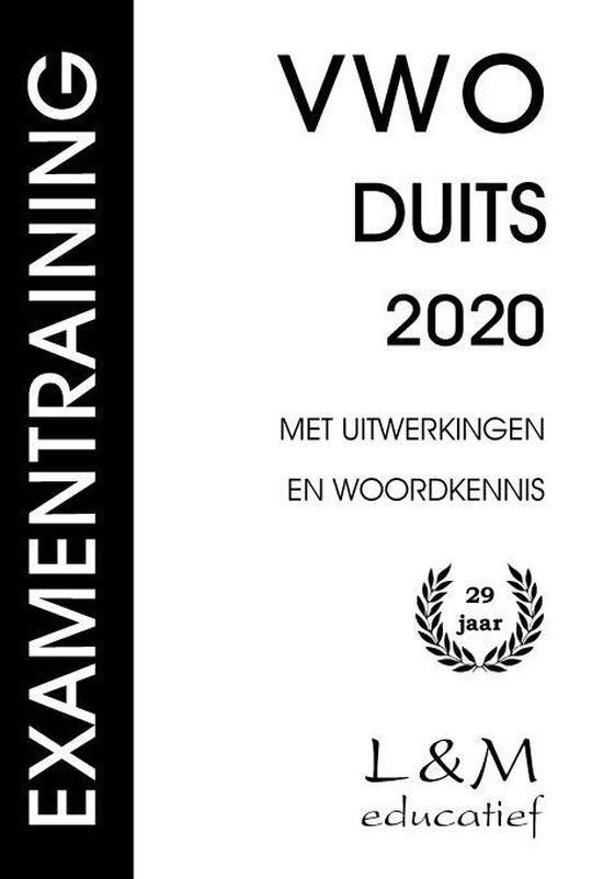Examentraining Vwo Duits 2020 - M.T. Janssens | Fthsonline.com