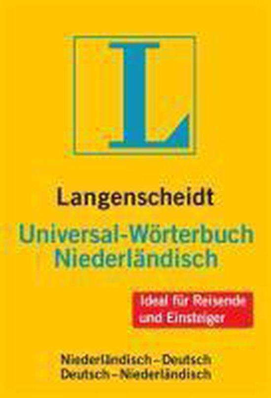 Langenscheidt Universal-W rterbuch Niederländisch - none |
