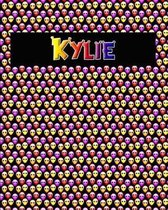 120 Page Handwriting Practice Book with Colorful Alien Cover Kylie