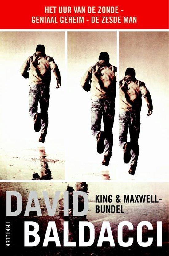 Boekomslag voor King & Maxwell-bundel