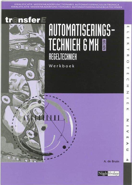 Automatiseringstechniek / 6 Mk Aec/Aen Regeltechniek / Deel Werkboek + Cd-Rom - Ad de Bruijne |