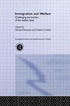 Boek cover Immigration and Welfare van Michael Bommes