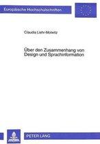 Ueber Den Zusammenhang Von Design Und Sprachinformation