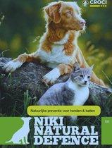 NIki N.D. Vlooienband Kat - Natuurlijk product - Neem Olie - Groen verstelbaar -