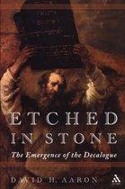 Boek cover Etched in Stone van David H. Aaron