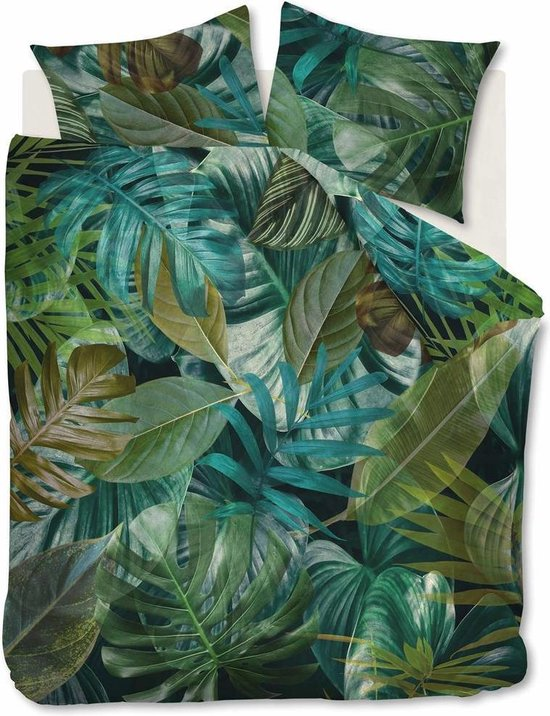 Beddinghouse Dekbedovertrek Botany Green Lits-jumeaux