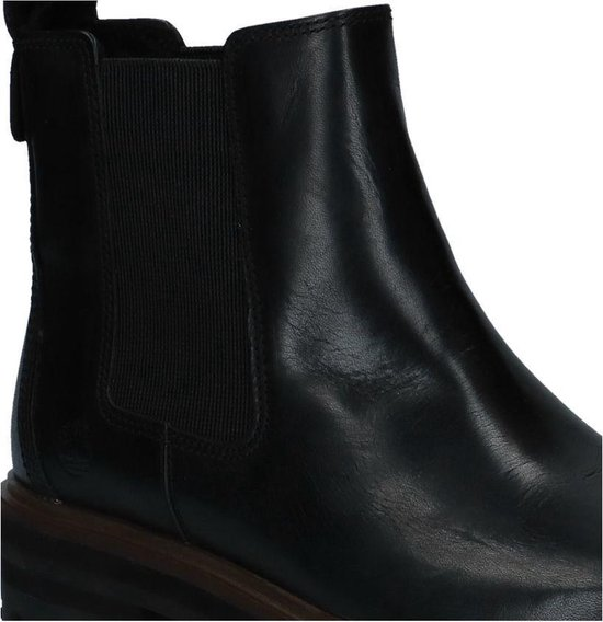 Timberland London Square Double Gore Chelsea Chelsea boots Dames Maat 39,5 Zwart;Zwarte 015 Black Full Grain