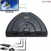 HDMI Switch Splitter 3 Poorts HDTV 1080P
