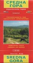 wandelkaart Sredna Gora Wegenkaart - Bulgarije