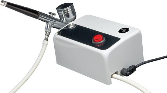 Crafts & Co Airbrush Set met Compressor