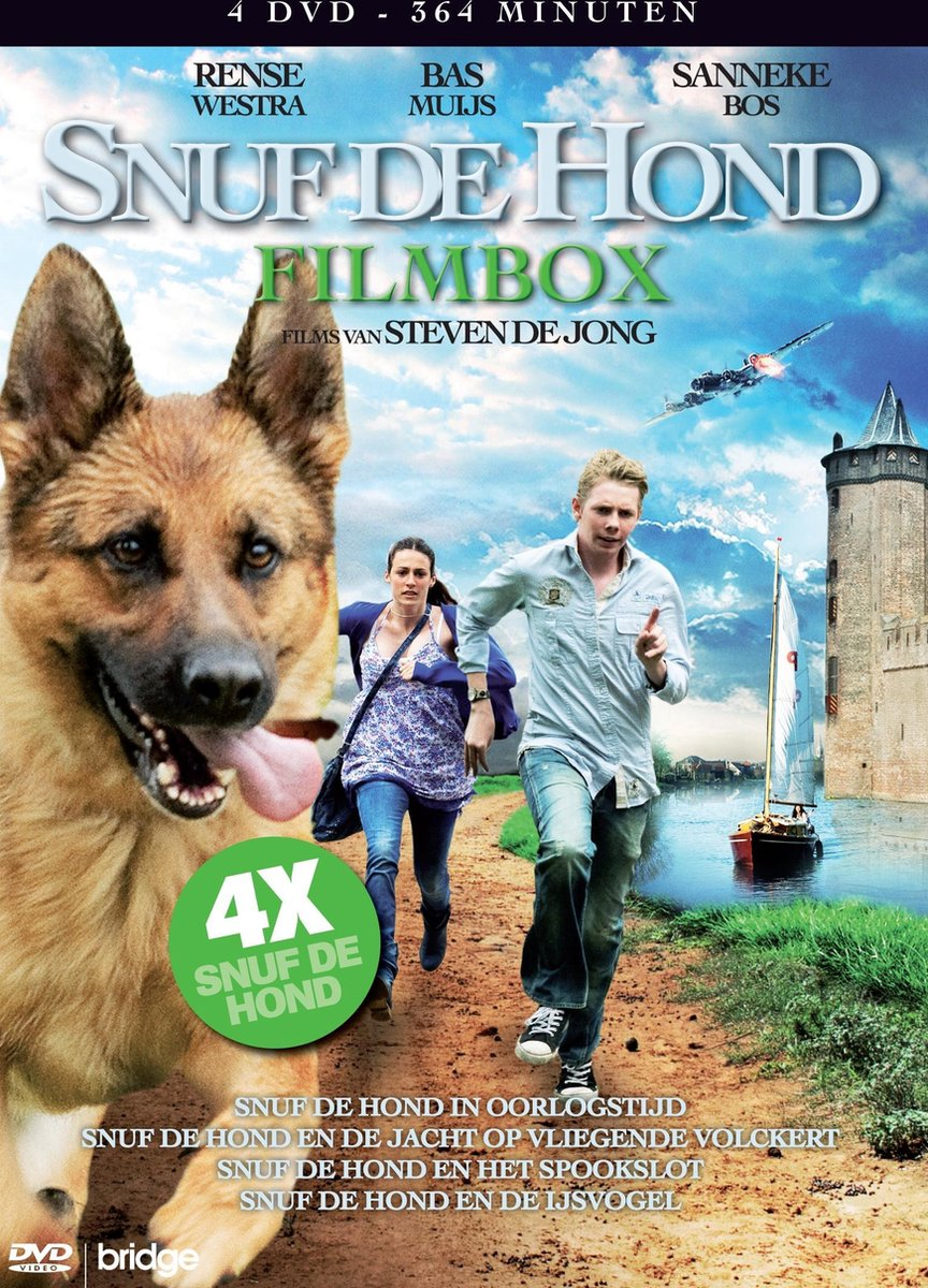 Snuf de Hond - Complete Box - 4Dvd Stackpack
