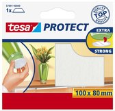 Tesa Protect Beschermvilt Rechthoekig - Wit - 80 x 100 mm