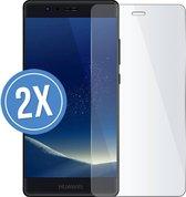 Huawei P Smart - Screenprotector - Tempered glass - 2 stuks