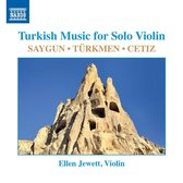Turkish Music For Solo Violin