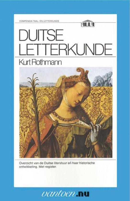 Vantoen.nu - Duitse letterkunde - K. Rothman | Fthsonline.com