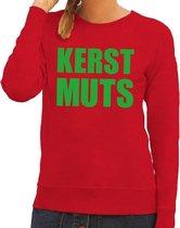 Foute kersttrui / sweater Kerst Muts rood voor dames - Kersttruien M (38)